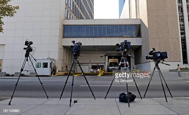 KAZI18 Media has their cameras ready for the arrival of Najibullah Zazi at the FBI Denver headquarters in downtown Denver Zazi was asked to meet...