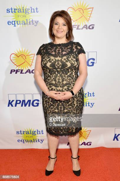 Media Honoree, journalist Ana Navarro attends the ninth annual PFLAG National Straight for Equality Awards Gala on March 27, 2017 in New York City.