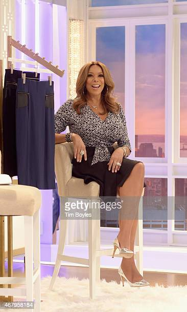 Media Icon Wendy Williams launches her apparel collection at the HSN studios on March 28 2015 in St Petersburg Florida