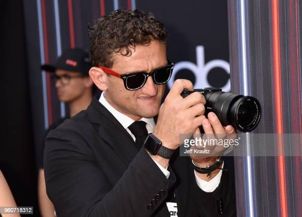Media influencer and YouTuber Casey Neistat attends the 2018 Billboard Music Awards at MGM Grand Garden Arena on May 20 2018 in Las Vegas Nevada