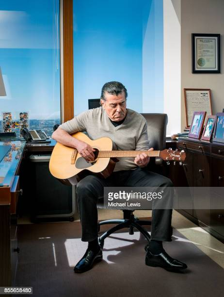Media mogul and philanthropist Haim Saban photographed for Variety on March 6 in Los Angeles, California.