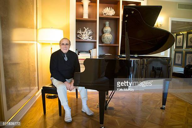 Media mogul Clive Davis is photographed for Los Angeles Times on February 9 2016 in Los Angeles California PUBLISHED IMAGE CREDIT MUST READ Kirk...