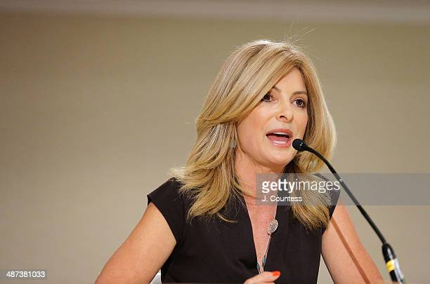 Media personality and civil rights attorney Lisa Bloom speaks during the Black Male Panal during the second day of the 2014 National Action Network...