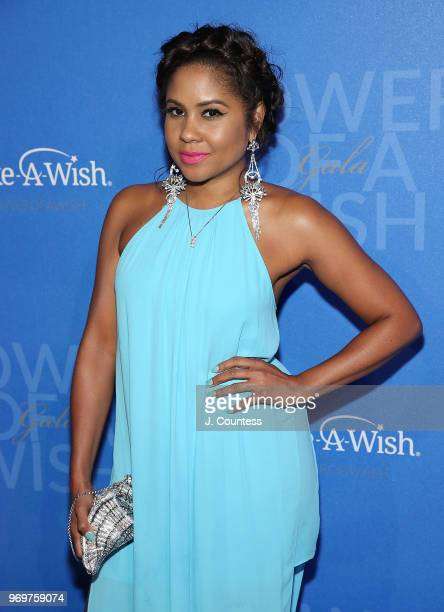 Media personality Angela Yee attends the 35th Anniversary MakeAWish Metro New York Gala at Cipriani Wall Street on June 7 2018 in New York City
