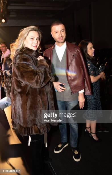 Media personality Bilal Al Arabi attends Jordan Fashion Week 019 on March 30 2019 at the Kempinski Amman in Amman Jordan