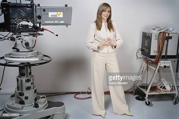 Media personality Carol Voderman is photographed for Saga magazine on September 11, 2004 in London, England.