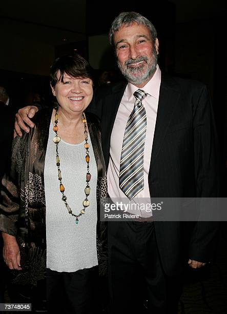 Media personality Don Burke attends with his wife the Sydney Heritage Fleet Fundraising Dinner at the Westin Hotel Sydney on March 30, 2007 in...