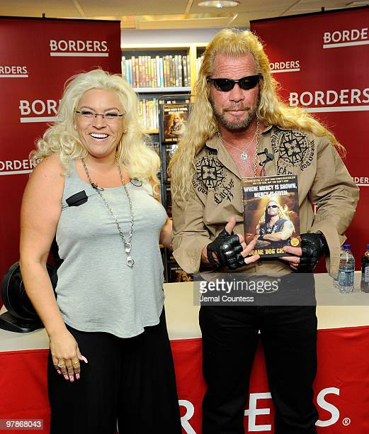 """Media personality Duane Chapman , known in the media as """"Dog the Bounty Hunter"""" is joined by his wife Beth Chapman as he promotes his book """"When..."""