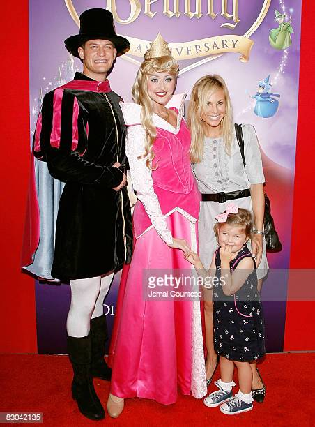 Media personality Elisabeth Hasselbeck and daughter Grace Hasselbeck join Princess Aurora and Prince Prince Phillip on the red carpet at the 50th...