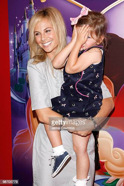 Media personality Elisabeth Hasselbeck and daughter Grace Hasselbeck attend the 50th Anniversary Release of the Walt Disney Classic Sleeping Beauty...