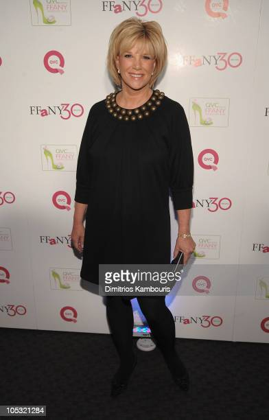 """Media personality Joan London attends """"FFANY Shoes on Sale"""" Benefit for Breast Cancer Research and Education, presented by QVC at Frederick P. Rose..."""