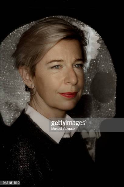 Media personality Katie Hopkins is photographed for Liberation on December 18 2017 in London England