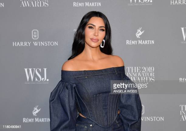 Media personality Kim Kardashian West attends the WSJ Magazine 2019 Innovator Awards at MOMA on November 6, 2019 in New York City.
