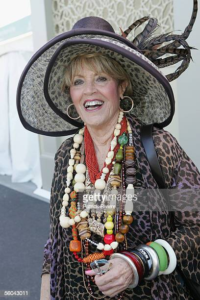 Media Personality Lillian Frank attends The Melbourne Cup at Flemington Racecourse November 1 2005 in Melbourne Australia