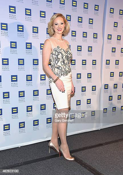 Media personality Margaret Hoover attends the 2015 Human Rights Campaign Greater New York Gala Dinnerat The Waldorf=Astoria on January 31 2015 in New...