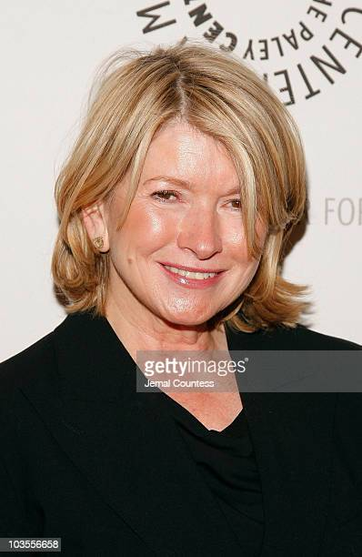 """Media Personality Martha Stewart attends the """"She Made It: Women Creating Television and Radio"""" Awards Reception at the Paley Center for Media on..."""
