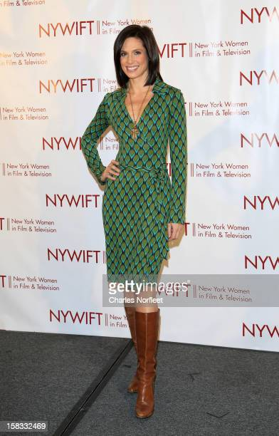 Media personality Megan Meany attends the 2012 New York Women In Film And Television Muse Awards at the Hilton New York on December 13, 2012 in New...