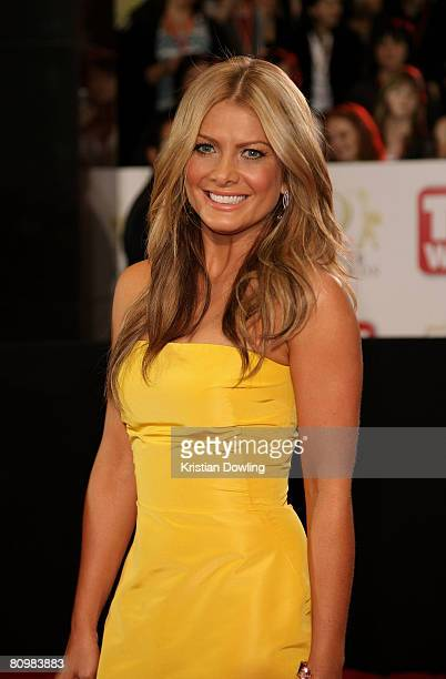 Media personality Natalie Bassingthwaighte arrives on the red carpet at the 50th Annual TV Week Logie Awards at the Crown Towers Hotel and Casino on...