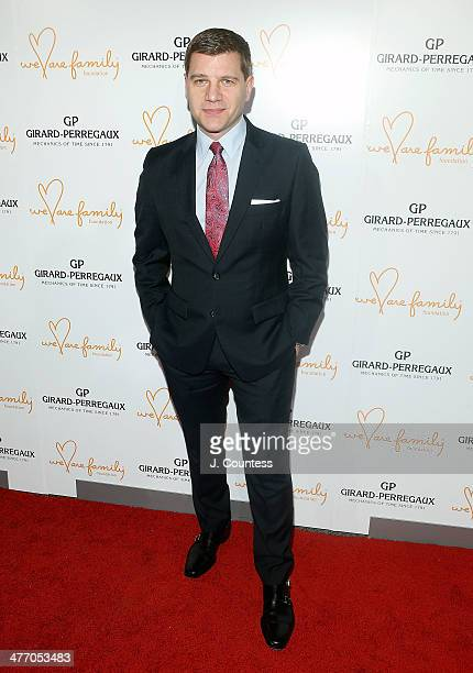 Media personality Tom Murro attends the We Are Family Foundation 2014 Gala at Hammerstein Ballroom on March 6 2014 in New York City