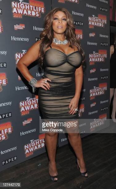 Media personality Wendy Williams attends the Paper Magazine 2011 Nightlife awards at Hiro Ballroom at The Maritime Hotel on September 27 2011 in New...