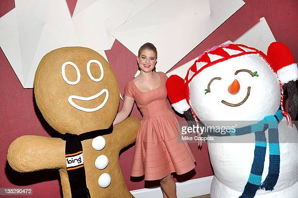 Media personality/singer Kelly Osbourne attends the Bing Magical Holiday Calendar kick off at the Crosby Hotel on December 7 2011 in New York City