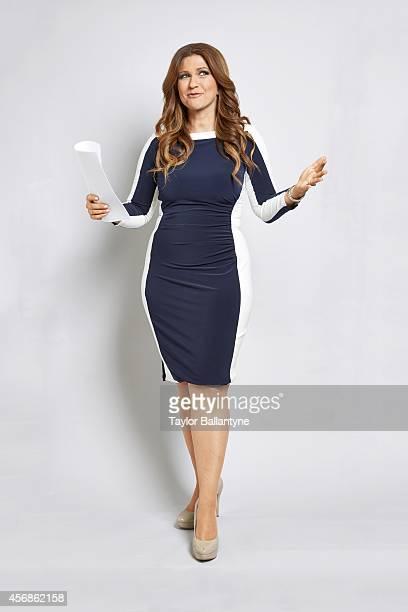 Portrait of CNN Sports reporter Rachel Nichols during photo shoot at Time & Life Building. New York, NY 9/26/2014 CREDIT: Taylor Ballantyne