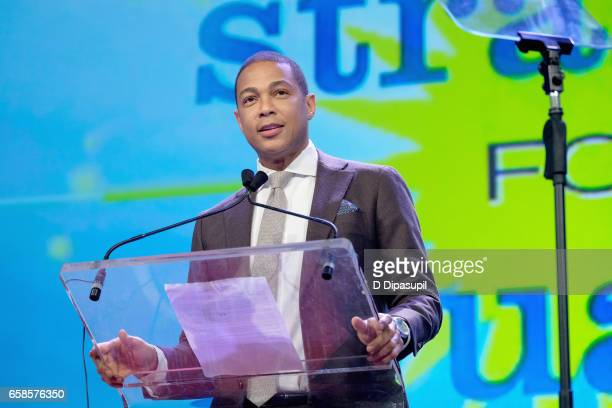Media presenter Don Lemon speaks on stage during the ninth annual PFLAG National Straight for Equality Awards Gala on March 27, 2017 in New York City.