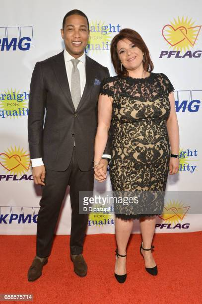 Media Presenter, journalist Don Lemon and Media Honoree, journalist Ana Navarro attend the ninth annual PFLAG National Straight for Equality Awards...
