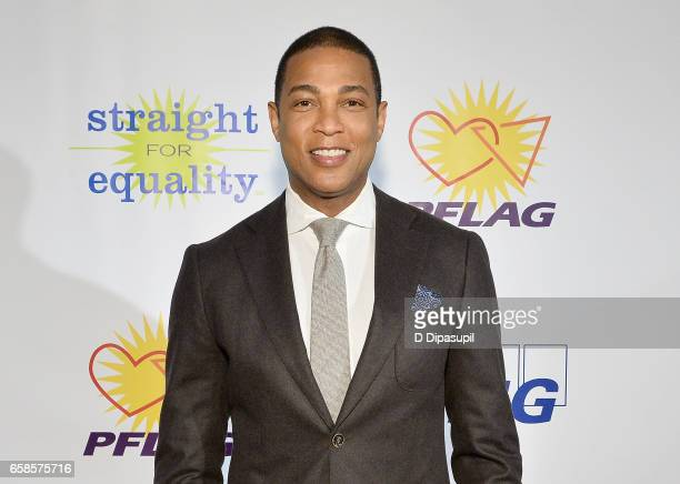 Media presenter, journalist Don Lemon attends the ninth annual PFLAG National Straight for Equality Awards Gala on March 27, 2017 in New York City.