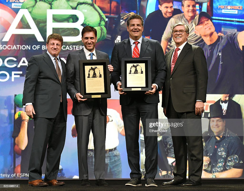 NAB Show Radio Luncheon Honors ESPN's Mike Golic And Mike Greenberg