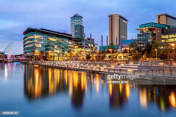 MediaCityUK, Salford Quays, Manchester, England