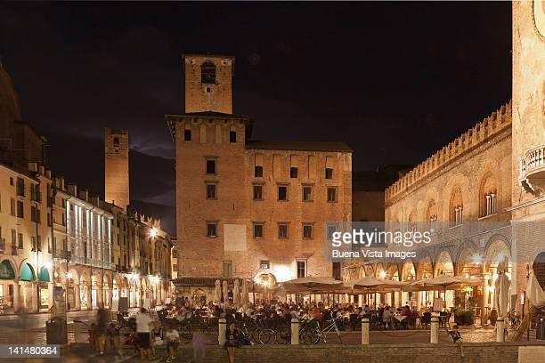 mediaeval square in mantua - mantua stock pictures, royalty-free photos & images