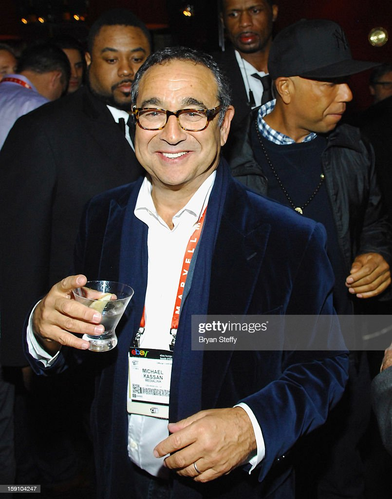 MediaLink Chairman and CEO Michael Kassan appears at the MediaLink CES Kickoff event at the Tryst nightclub at Wynn Las Vegas on January 7, 2013 in Las Vegas, Nevada.