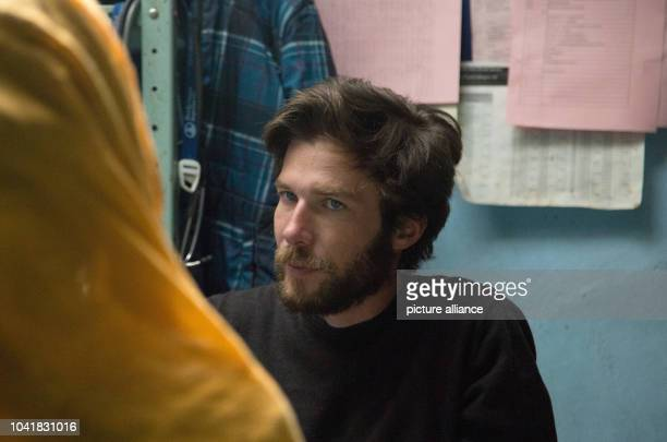 Medic Johannes Plate during a consultation session for pregnant women in a hospital in Lwere Sudan 02 February 2017 Women in the Nuba mountains have...