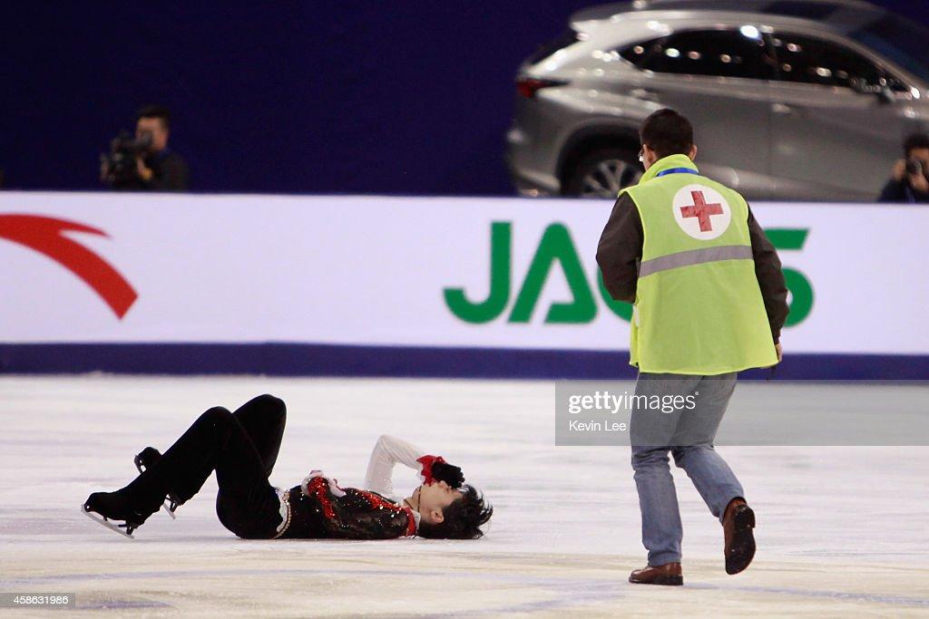 Lexus Cup Of China 2014 ISU Grand Prix Of Figure Skating - Day 2 : News Photo