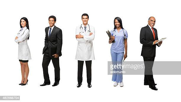 Medical and business professionals