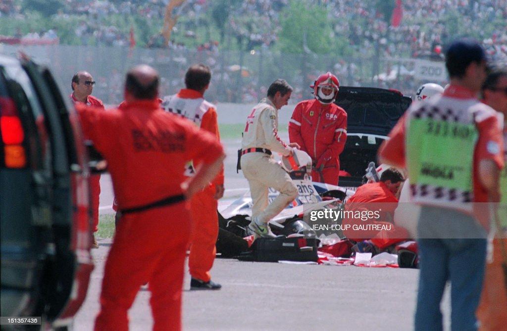 BIO-SENNA-F1-CRASH : News Photo