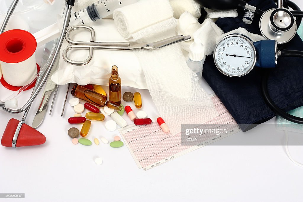 Medical background : Stock Photo