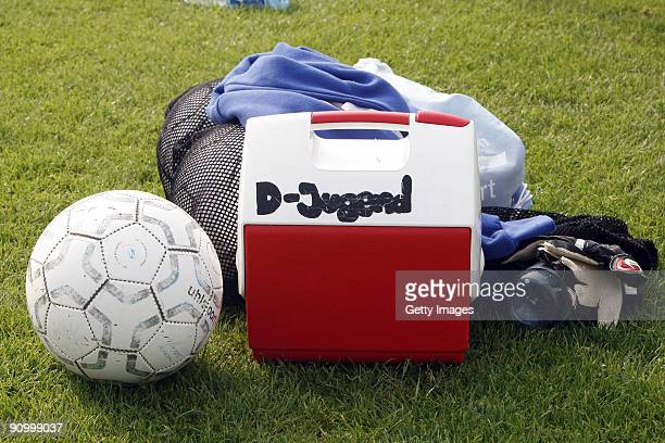 Medical Bag seen during the D Juniors match between Rosenhoehe Offenbach and KSV Klein Karben at the Sportzentrum Rosenhoehe on September 20 2009 in...