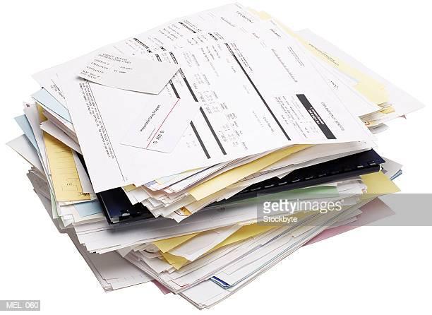 medical bills and receipts - 領収書 ストックフォトと画像