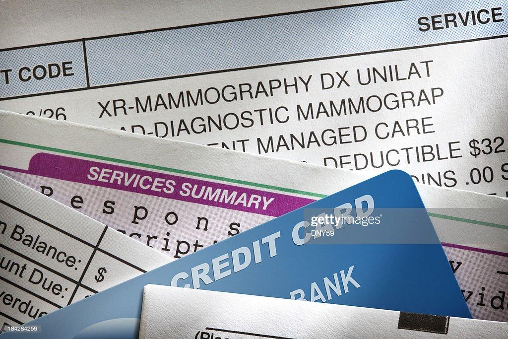 Medical Bills : Stock Photo