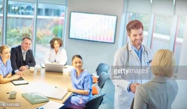ようこそ医療ビジネス プレゼンテーション