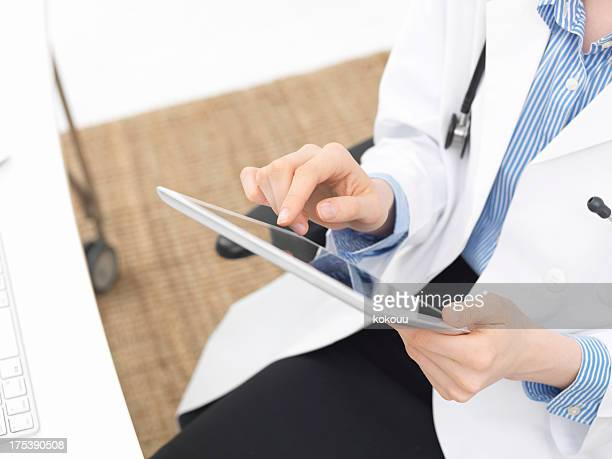 Medical care with a tablet PC
