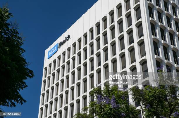 Medical Center building is viewed in Westwood Village on August 7 2018 in Los Angeles California Millions of tourists flock to the Los Angeles area...