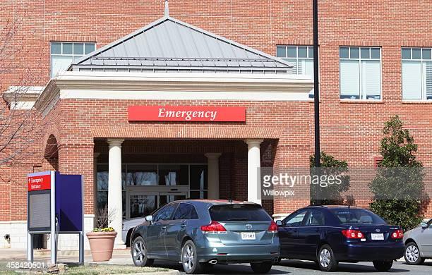 Medical Center Emergency Entrance