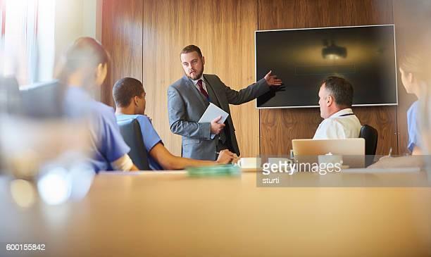 medical centre presentation