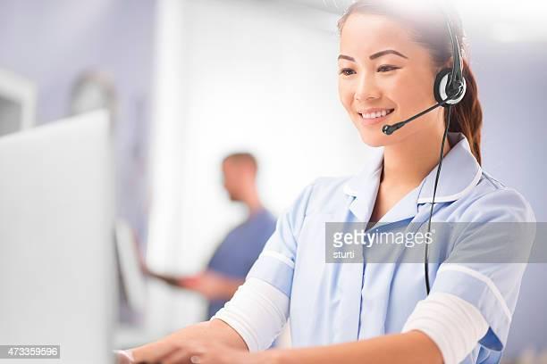 centre médical Réceptionniste téléphonique