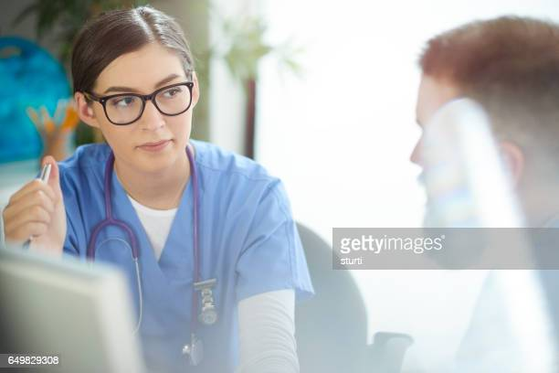 Médico de conversa