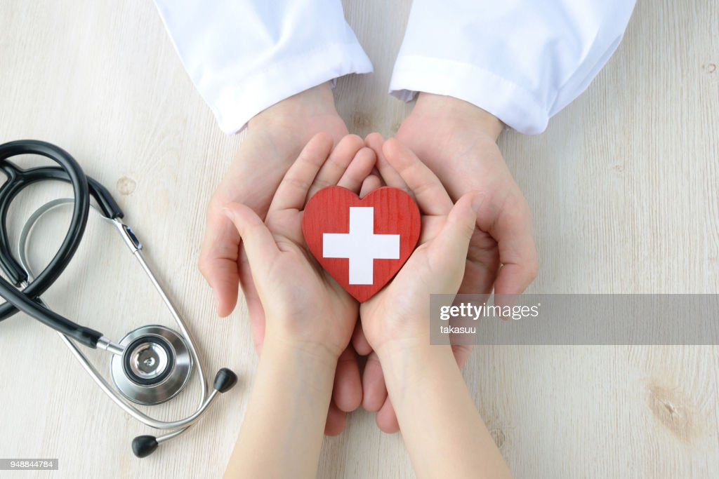 Medical concepts, safe support : Stock Photo