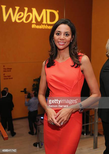 Medical Contributor for CBS News Dr Holly Phillips attends the 2014 Health Hero Awards hosted by WebMD at Times Center on November 6 2014 in New York...